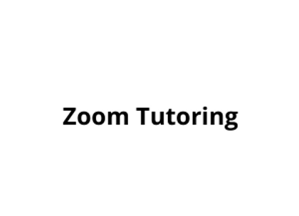 Zoom Tutoring