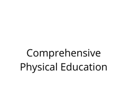 Comprehensive Physical Education