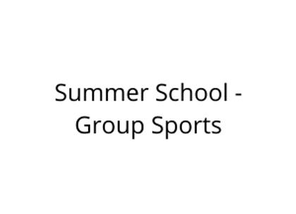 Summer School - Group Sports
