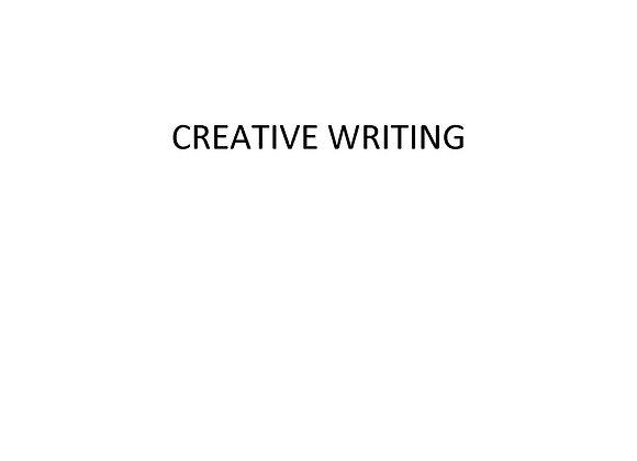 ED Creative Writing