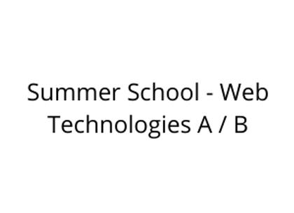 Summer School - Web Technologies A / B
