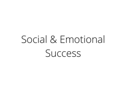 Social & Emotional Success