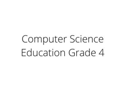 Computer Science Education Grade 4