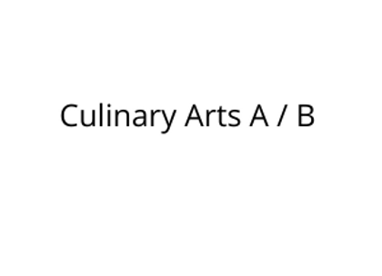 Culinary Arts A / B