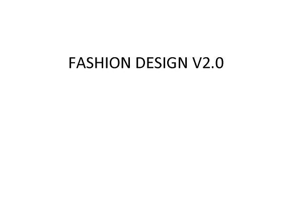 Fashion Design v2.0