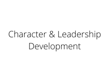 Character & Leadership Development