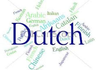 Dutch I, II OR III