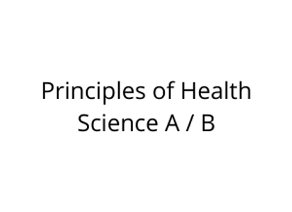 Principles of Health Science A / B