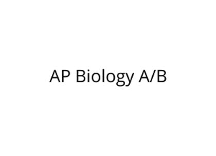 AP Biology A/B