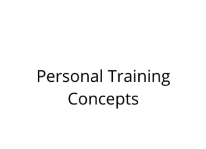 Personal Training Concepts