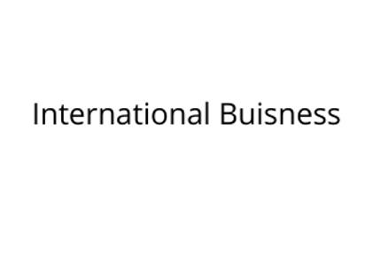 International Buisness