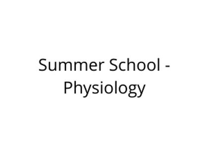 Summer School - Physiology