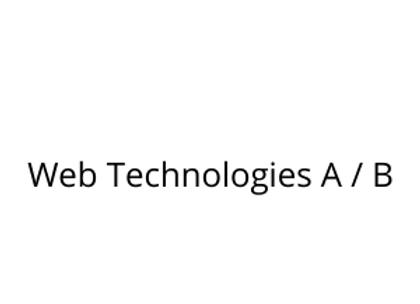 Web Technologies A / B