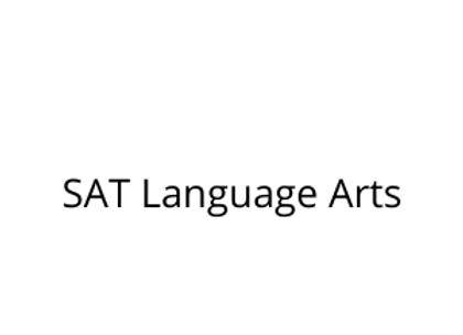 SAT Language Arts
