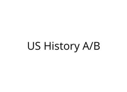 US History A/B
