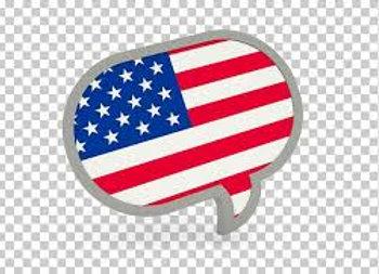 English (American) I, II, III, IV OR V