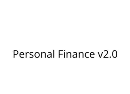 Personal Finance v2.0