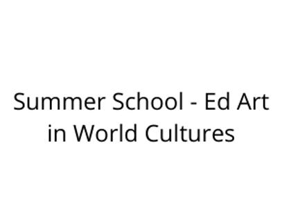 Summer School - Art in World Cultures