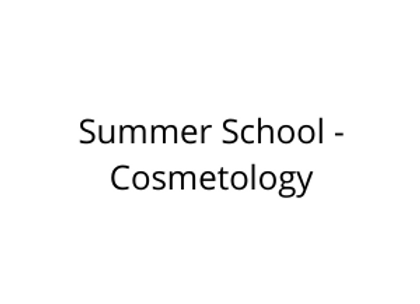 Summer School - Cosmetology