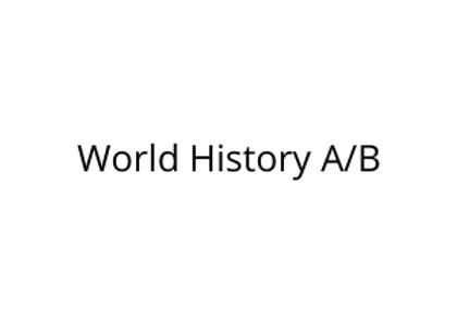 World History A/B