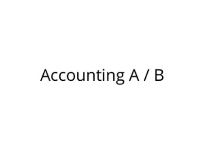 Accounting A / B