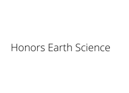 Honors Earth Science