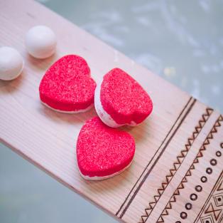 chocolate cherry hearts