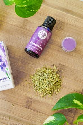 Lavender Rosemary Ingredients