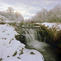 Winter Waterfall, Yorkshire