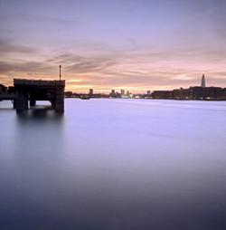 Dusk, Rotherhithe, London