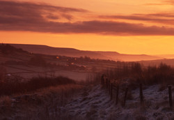 Home sunrise, West Yorkshire