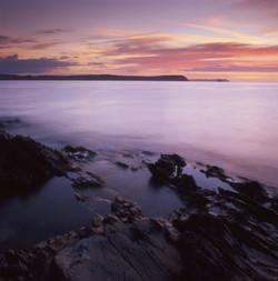 Portscatho, dawn, Cornwall