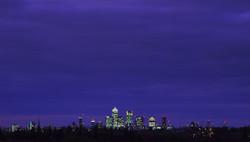 City view sunset, london