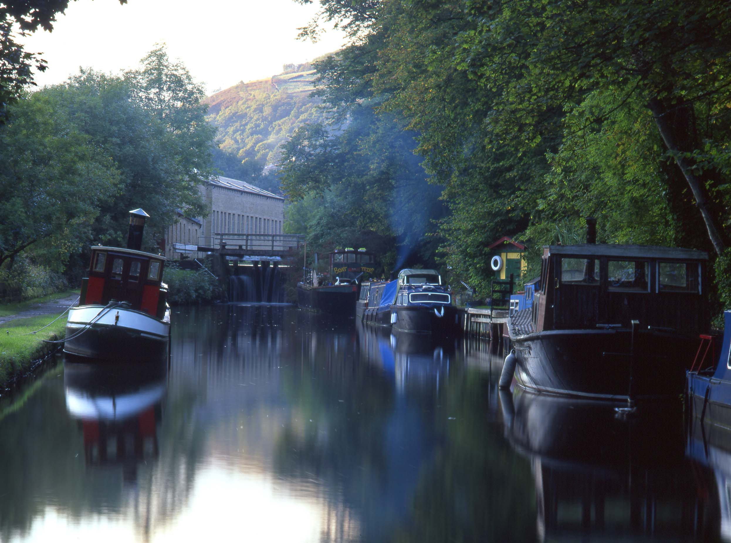 Canal, Hebden Bridge