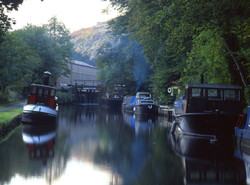 Canal, Hebden Bridge
