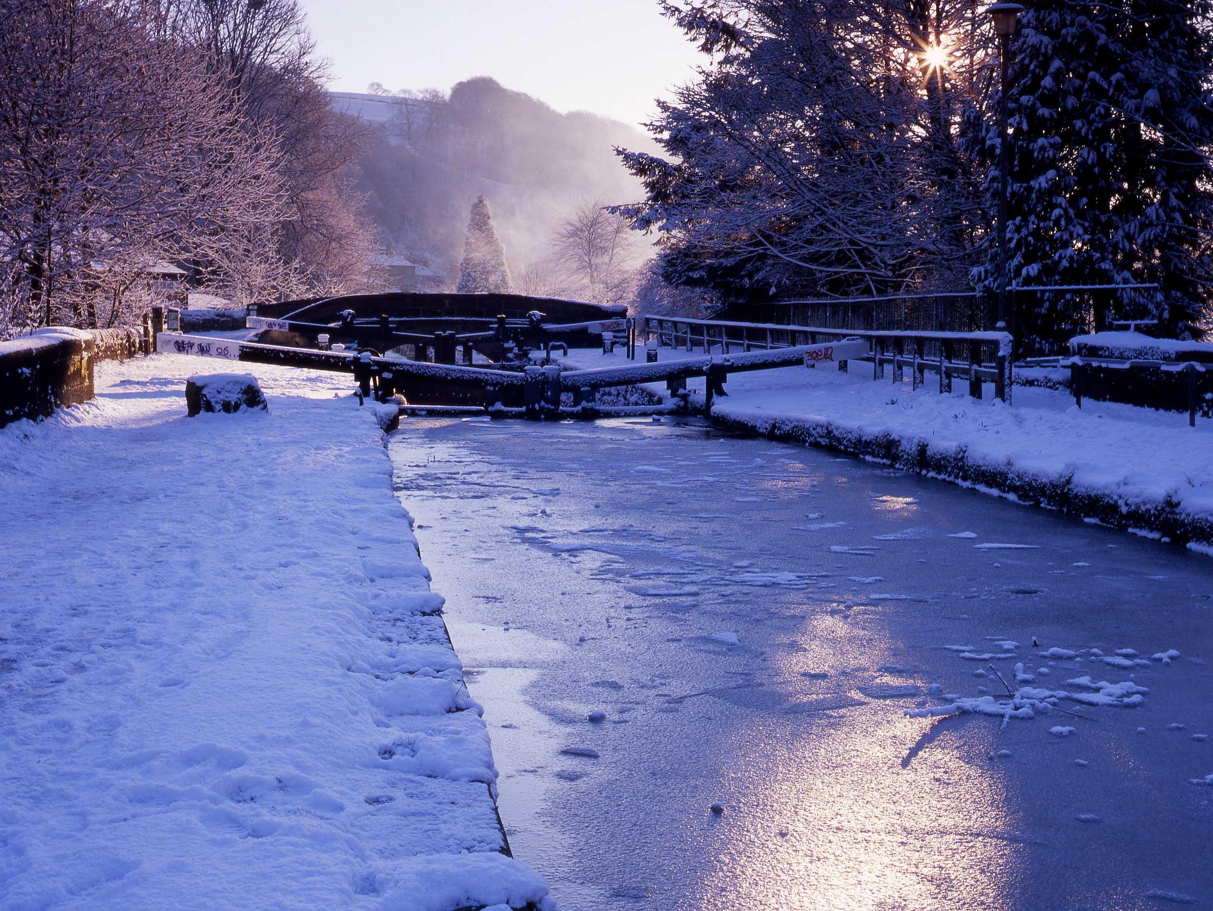 Canal Locks, Hebden Bridge