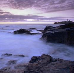Godrevy Head, Cornwall, Dusk