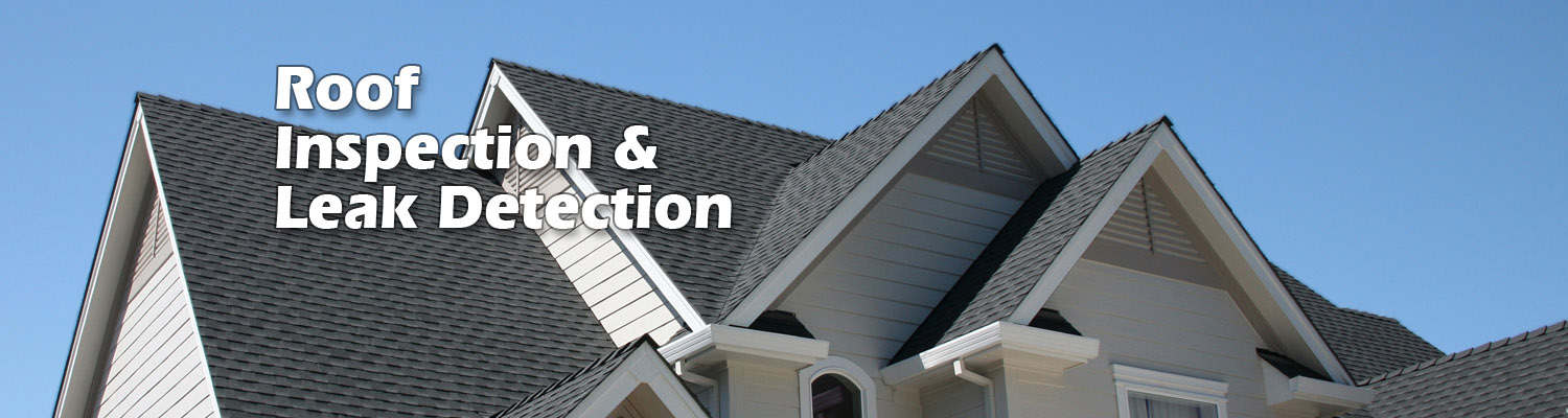 roof inspection and leak detection