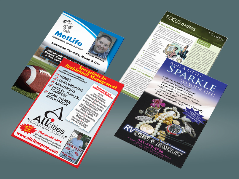 Flyers and Ad Design