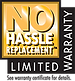 Tempstar No Hassle Replacement Limited Warranty