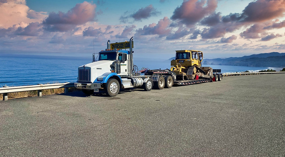 Heavy haul and oversized load hauling in the pacific northwest and Idaho.
