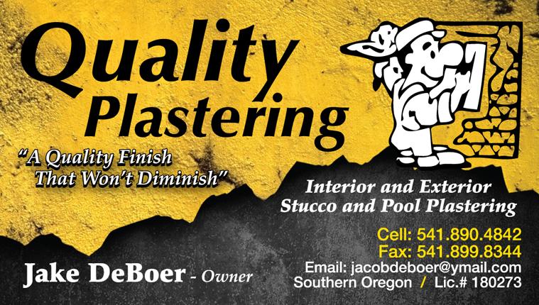 Quality Plastering