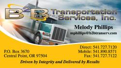 B2B Transportation Services