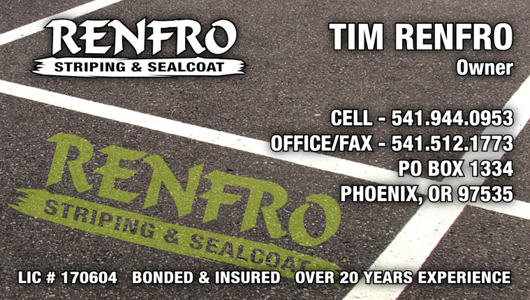 Renfro Striping & Sealcoat