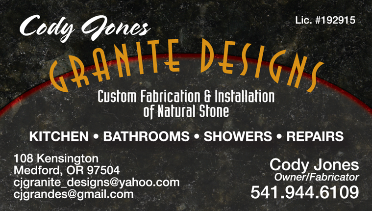 Cody Jones Granite Designs