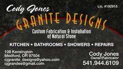 Cody Jones Granite Designs