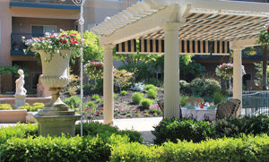 Retirement community landscape maintenance medford