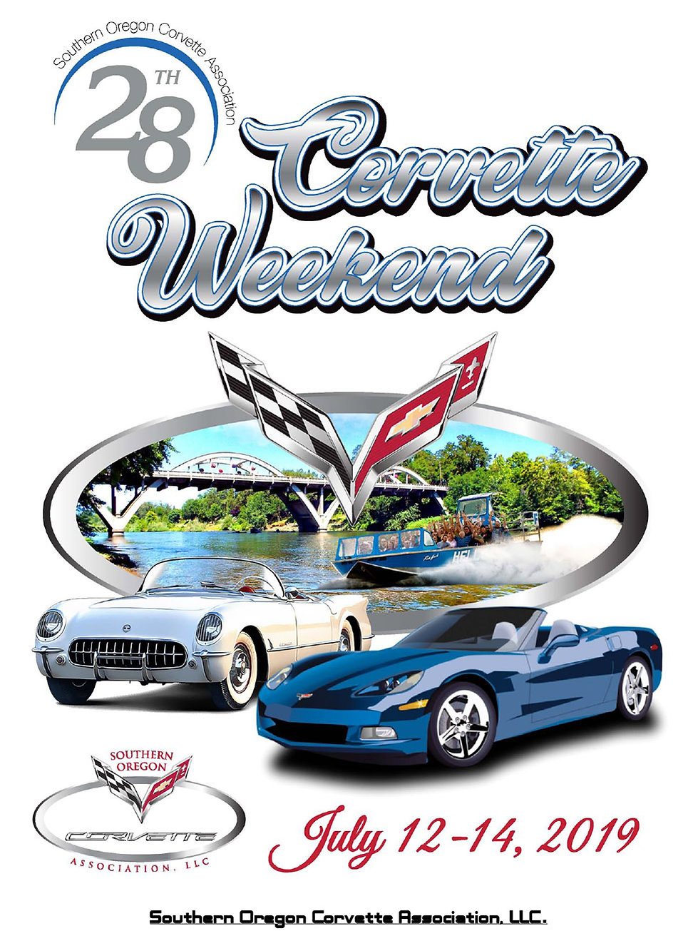 Southern Oregon Corvette Association 28th Corvette Weekend 2019