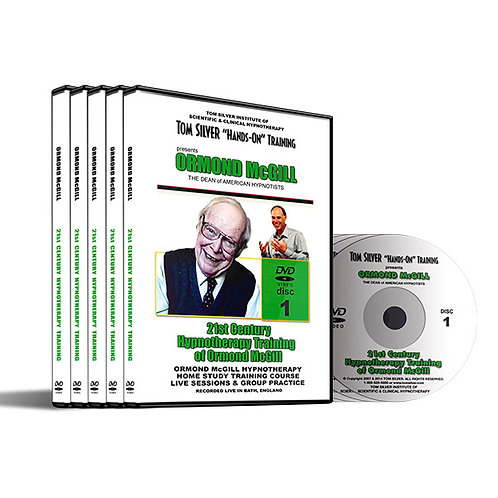 21st Century Hypnotherapy Training of Dr.Ormond McGill DVD Set