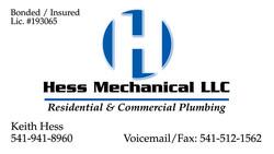 Hess Mechanical